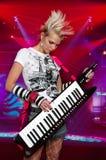 musician rock Στοκ Φωτογραφία