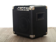 Musician's Amplifier Royalty Free Stock Images