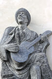 Musician statue Stock Photo