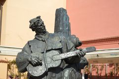 Musician statue Royalty Free Stock Photography
