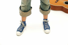 Musician style. Royalty Free Stock Image