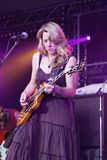Musician Susan Tedeschi Royalty Free Stock Photography