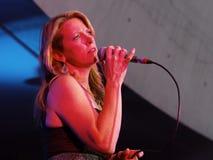 Musician Susan Tedeschi Royalty Free Stock Image