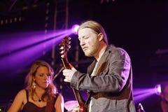 Musician Susan Tedeschi & Derek Trucks Stock Photos
