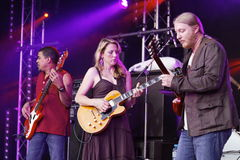Musician Tedeschi Trucks Band Stock Photography