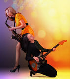 Musicians Royalty Free Stock Photography