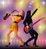 Musicians Royalty Free Stock Photos