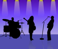 Musicians band Stock Photo
