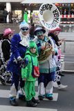 Musicians in Carnival Stock Photo