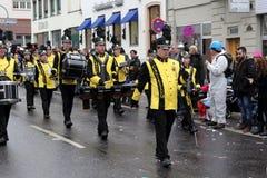 Musicians in Carnival Stock Image