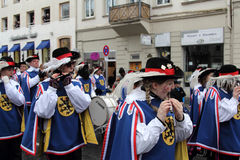 Musicians in Carnival Royalty Free Stock Photos
