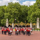 Musicians at the Changing of the Guard Performance at Buckingham Royalty Free Stock Images
