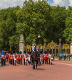 Musicians at the Changing of the Guard Performance at Buckingham Stock Image