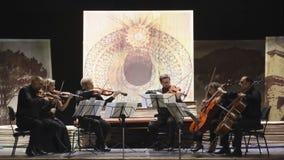 Musicians in concert Stock Photos