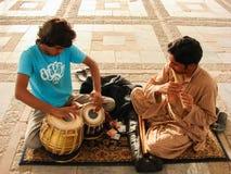 The musicians. Musicians drum local folk punjab culture marriage event stock image