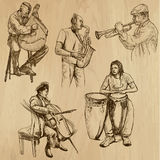 Musicians 3 Stock Image