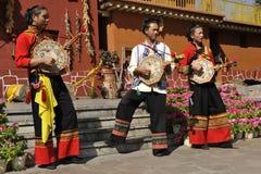 Free Musicians Of The Yi Minority, China Royalty Free Stock Photo - 28819495