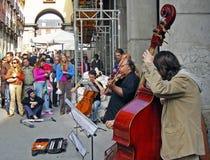 Free Musicians Street Stock Image - 26855781