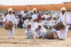 Musicians at a wedding party. Musicians wedding party drum beather beater marriage folk turban punajb pakistan stock photos