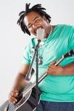 Musicien africain photographie stock libre de droits