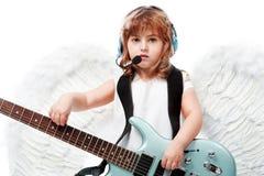 Musicien angélique Images stock