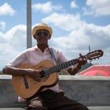 Musicien cubain Image libre de droits