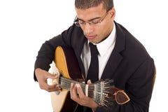 Musicien de Fado Photo libre de droits