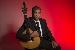 Musicien de Fado Images libres de droits