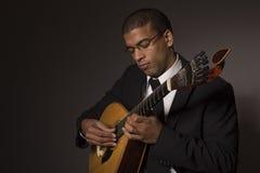 Musicien de Fado Photos libres de droits