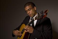 Musicien de Fado Photo stock