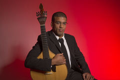 Musicien de Fado image libre de droits