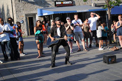 Musicien de rue photos libres de droits