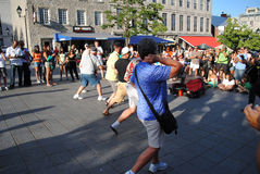 Musicien de rue photo libre de droits
