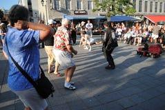 Musicien de rue photographie stock libre de droits