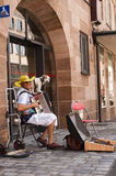 Musicien de rue Photo stock