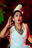 Musicien et chanteur traditionnels féminins. Photo stock
