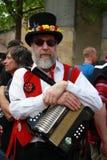 Musicien folklorique au festival de champ de Rochester Photo libre de droits