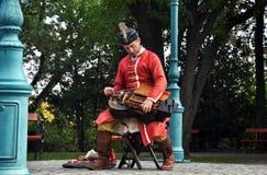 Musicien hongrois photographie stock libre de droits