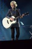 Musicien irlandais Dolores O'Riordan Photos libres de droits