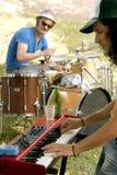 musiciens Image stock