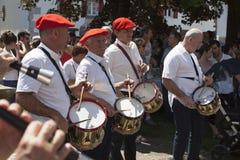 Musiciens Basques Photos stock