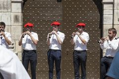 Musiciens Basques Photo stock