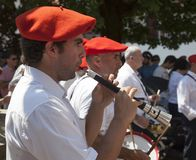 Musiciens Basques Image stock