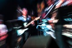 Musiciens brouillés photographie stock libre de droits