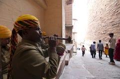 Musiciens de Rajasthani Image libre de droits