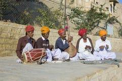 Musiciens de rue Photos libres de droits