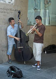 Musiciens de rue Photo libre de droits