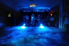 Musiciens sur la noce luxueuse d'événement photo stock