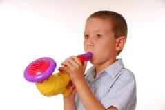 Musicista 3 del ragazzo fotografia stock libera da diritti