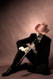 Musicista Fotografie Stock